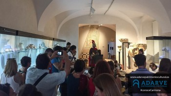 SEGUIMOS APRENDIENDO EN LA SALA ROMANA DEL MUSEO