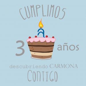 CUMPLIMOS 3 AÑOS