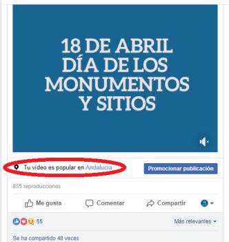 Vídeo popular en Andalucía