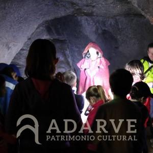 Pedro I en las Cuevas de la Batida