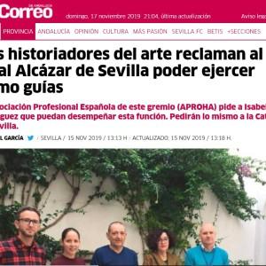 NOTICIA EN EL CORREO DE ANDALUCÍA
