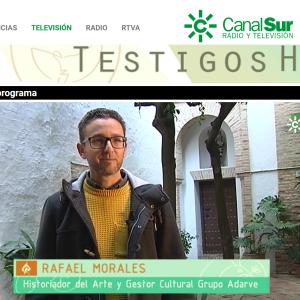 Rafael Morales en el programa Testigos Hoy de Canal Sur