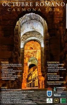 Cartel Octubre Romano